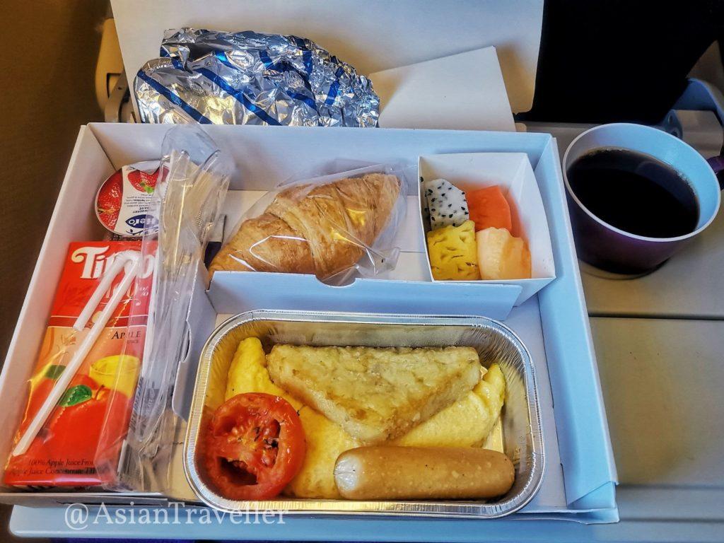 タイ航空朝食