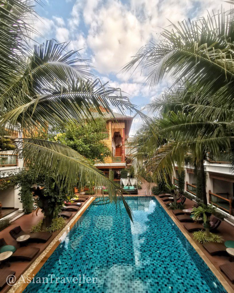 Pingviman Hotel チェンマイのプール