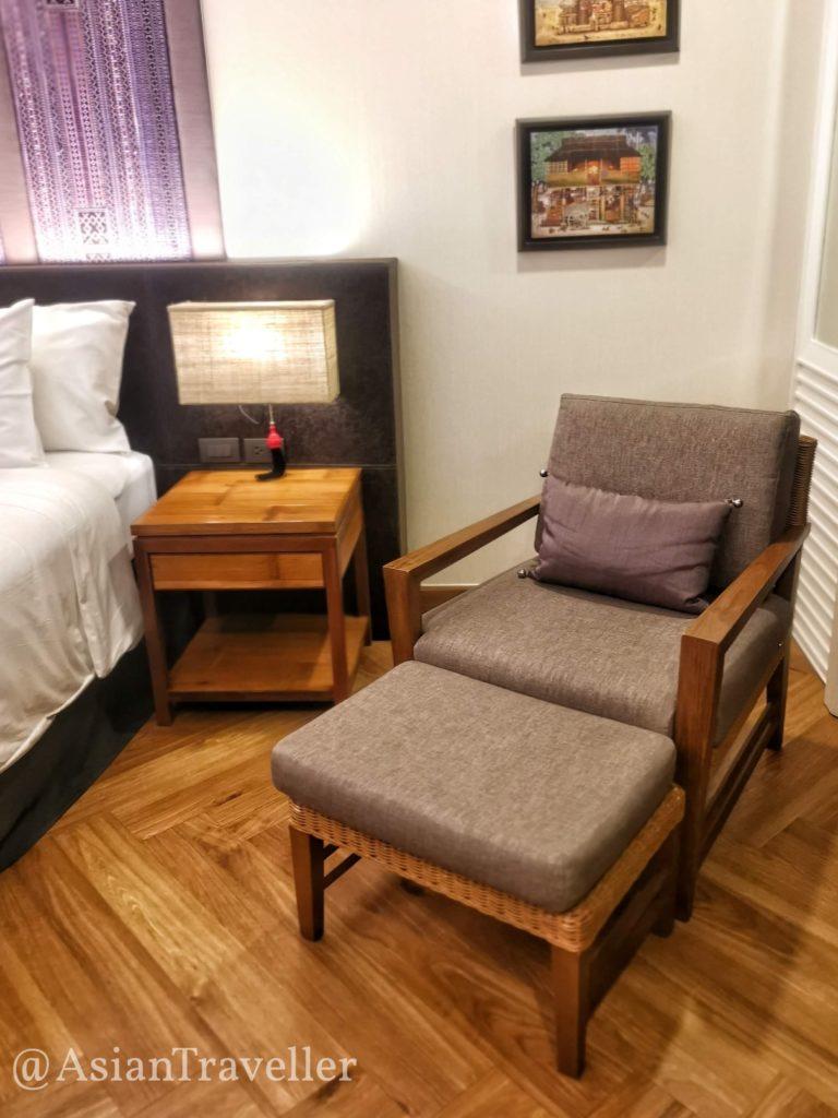 チェンマイのホテル Chala Number 6 寝室