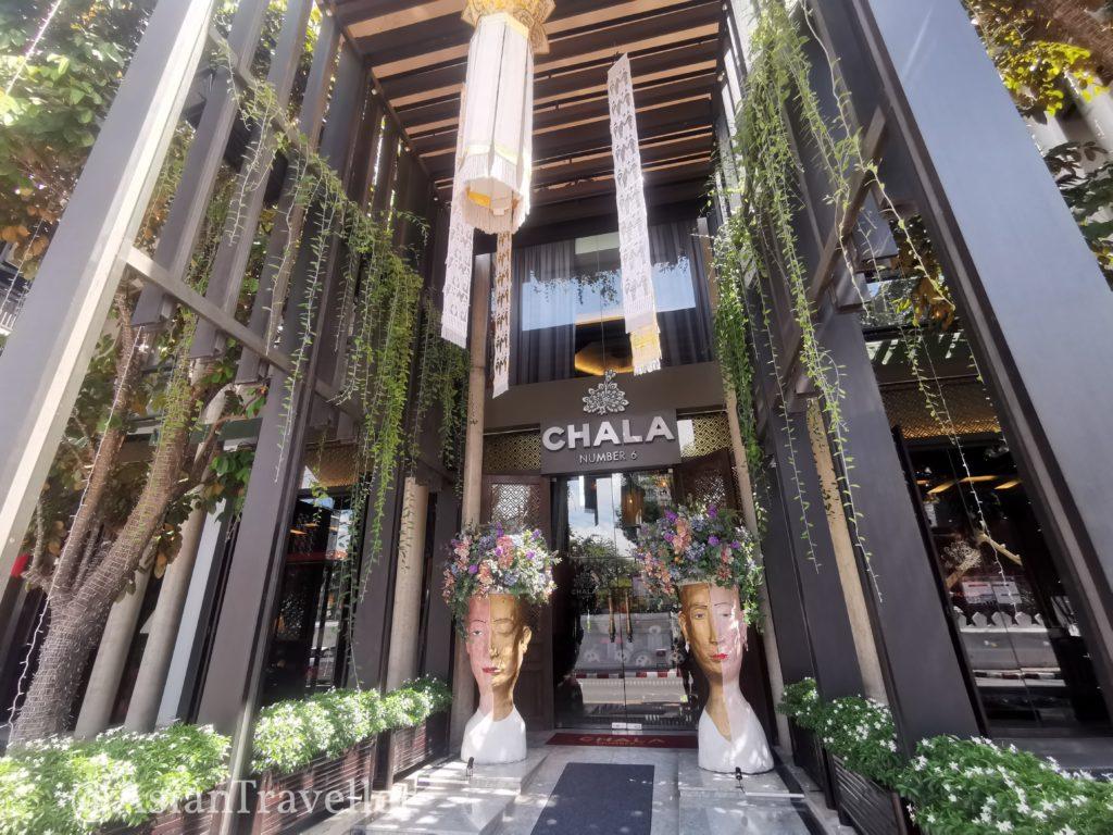 チェンマイのチャラナンバー6ホテル